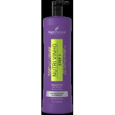 Shampoo Anti-Resíduo Nutri Vinho 1L