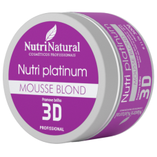 Mousse Blond Nutri Platinum 300g