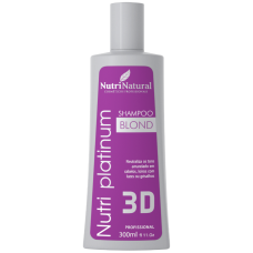 Shampoo Blond Nutri Platinum 300ml